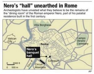 Nero's palace 1 - map