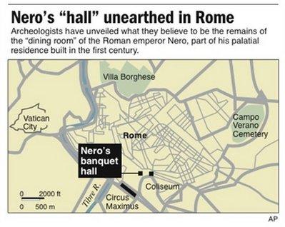 Nero Had A Rotating Dining Room