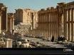 A street scene in Palmyra