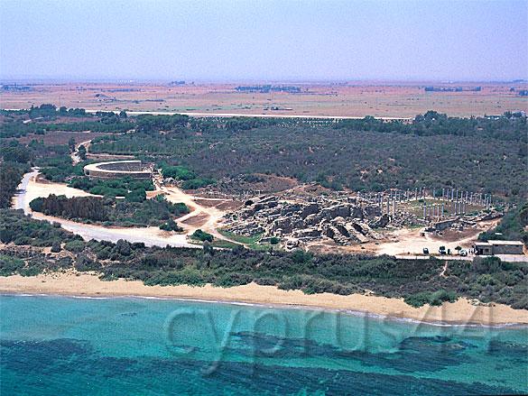 salamis-ruins-from-air