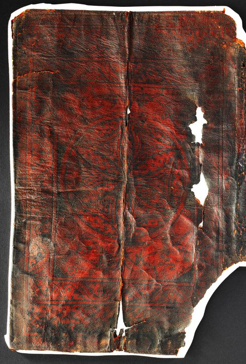 BL Papyrus 1442 - enhanced image of cover