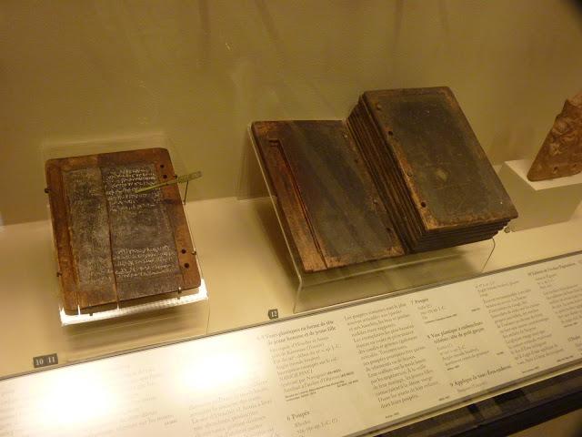 Roman wax tablet - Louvre