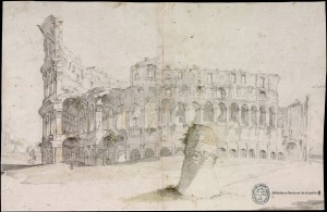 Velasquez, Colosseum with Meta Sudans