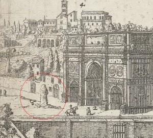 Meta Sudans, 1666.