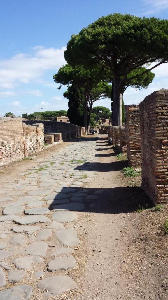 Far too hot in Ostia.