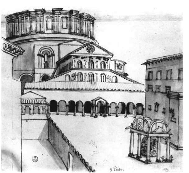 G.A.Dosio, 1575 or shortly before, formerly Uffizi, Florence 2555.
