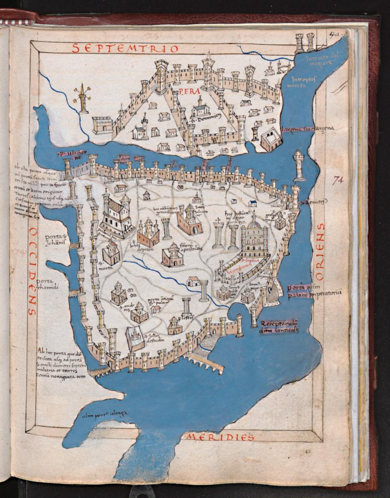 Constantinople 1420, Ensenius / Cristoforo Buondelmonti