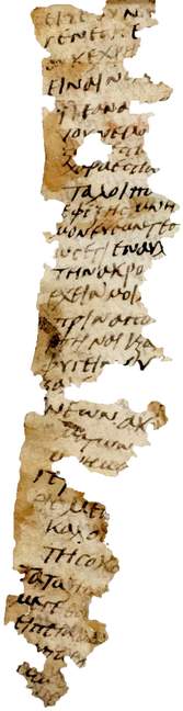 Methodius of Olympus.  5-6th century papyrus fragment of the Symposium.