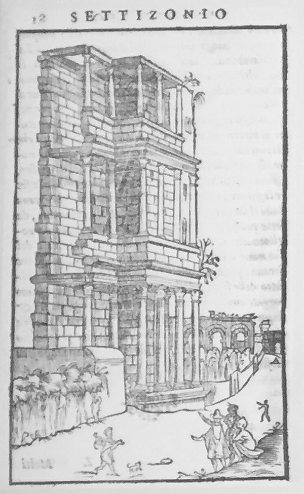 B. Gamucci 'Libri Quattro dell' antichita della citta di Roma' 1569