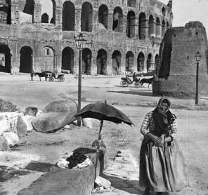 Colosseum and Meta Sudans, 1885