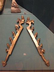Roman castration clamps