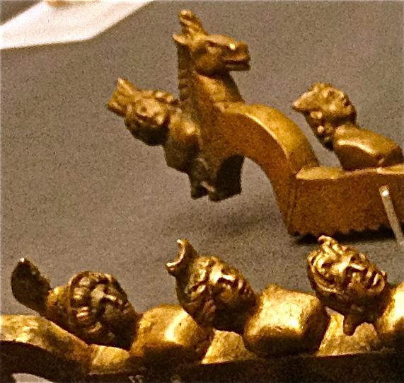 Roman castration clamps - detail