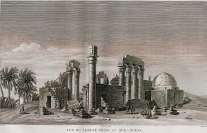 The temple of Cleopatra and Caesarion at Armant