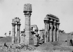 Cleopatra's temple at Erment. 1857. Francis Frith.