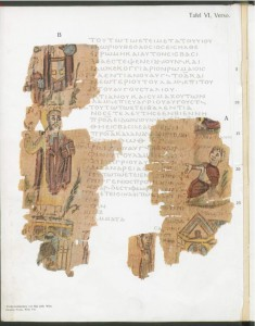 Alexandrian World Chronicle, fol. 6v. Theophilus and the Serapeum, &c.