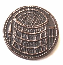 Meta Sudans in sestertius of Titus