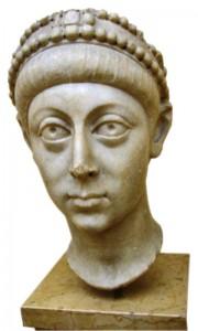 Bust of Arcadius. Istanbul?