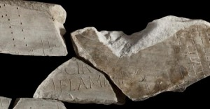 New fragment of the Forma Urbis Romae showing the Circus Flaminius