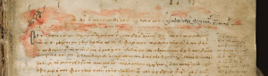 First page of the Mediceo-Laurenziana Ms. 69:33.