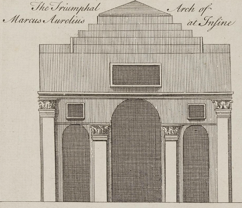 "Perry / Lucas, ""Triumphal arch"" of Antinoe"