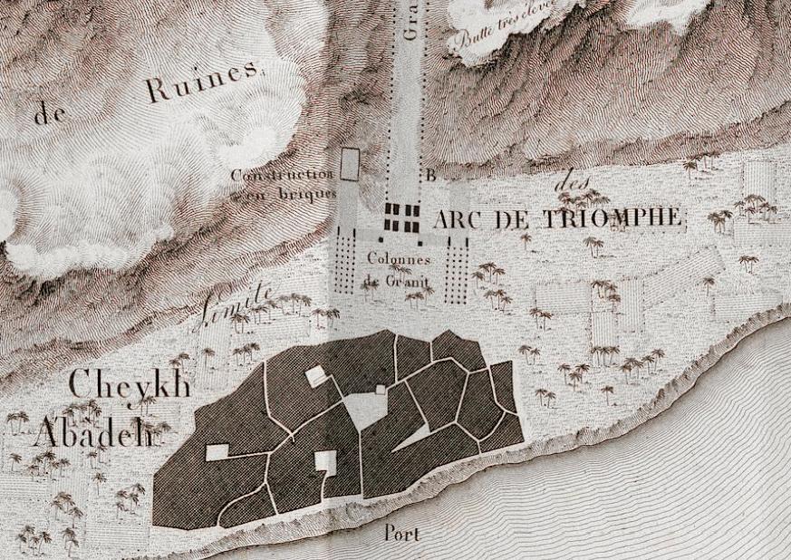 antinoupolis_jomard_arc_de_trioumph